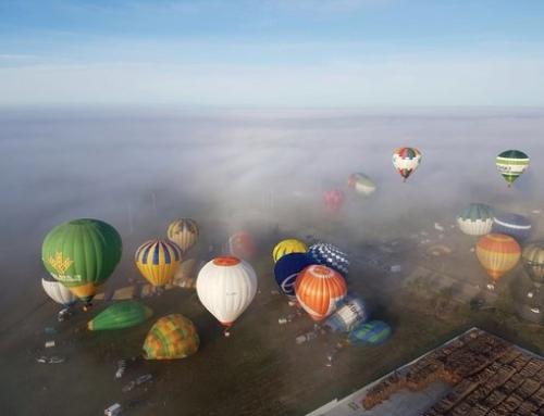 20 Festival Internacional de Globos Aerostáticos (Alentejo).