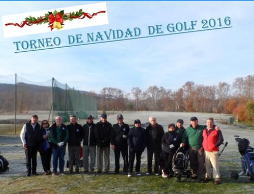 Golf- Torneig de Nadal 2016