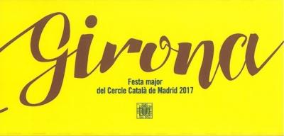 Festa Major 2017 Girona - Portada