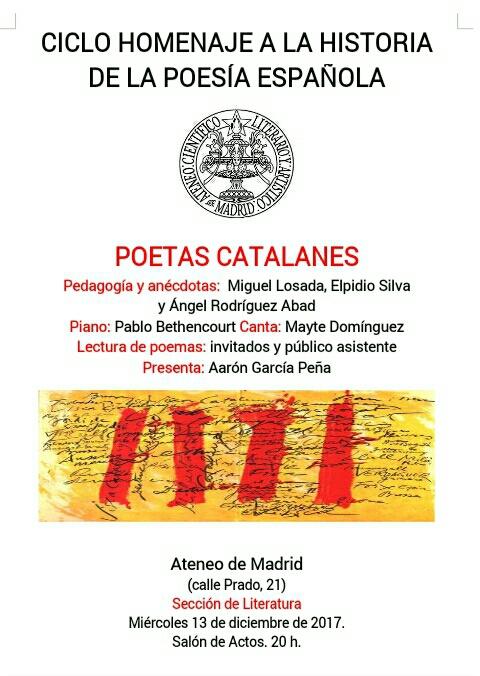Ateneo Poetas Catalanes