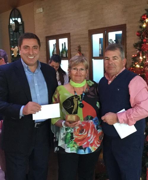 Golf - Torneo Navidad 2017 - Entrega Trofeos