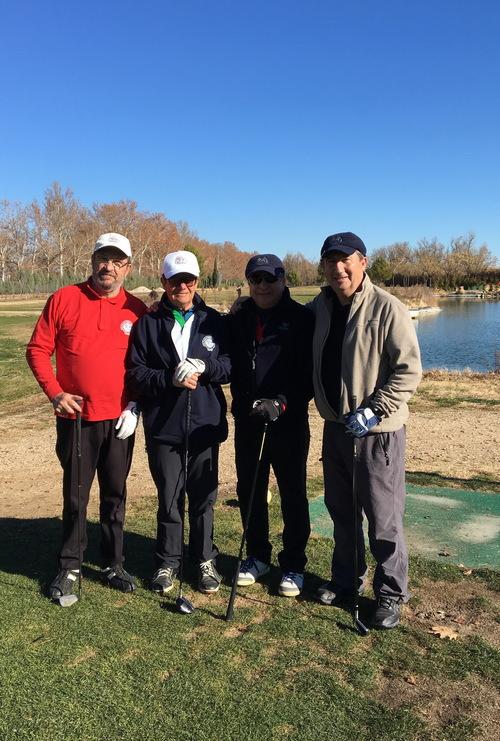 Golf - Torneo Navidad 2017 - Partida C