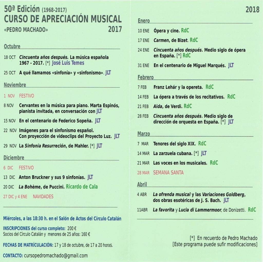 2018-01 50 Curso Apreciación Musical - Detalle