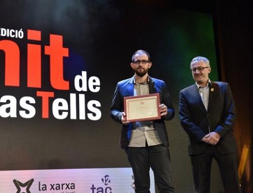27 de gener de 2018-COLLA CASTELLERA DE MADRID-Premi Especial  Nit de Castells 2018.