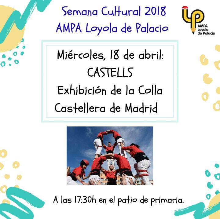 Castells AMPA Loyola de Palacio 2018-04-18