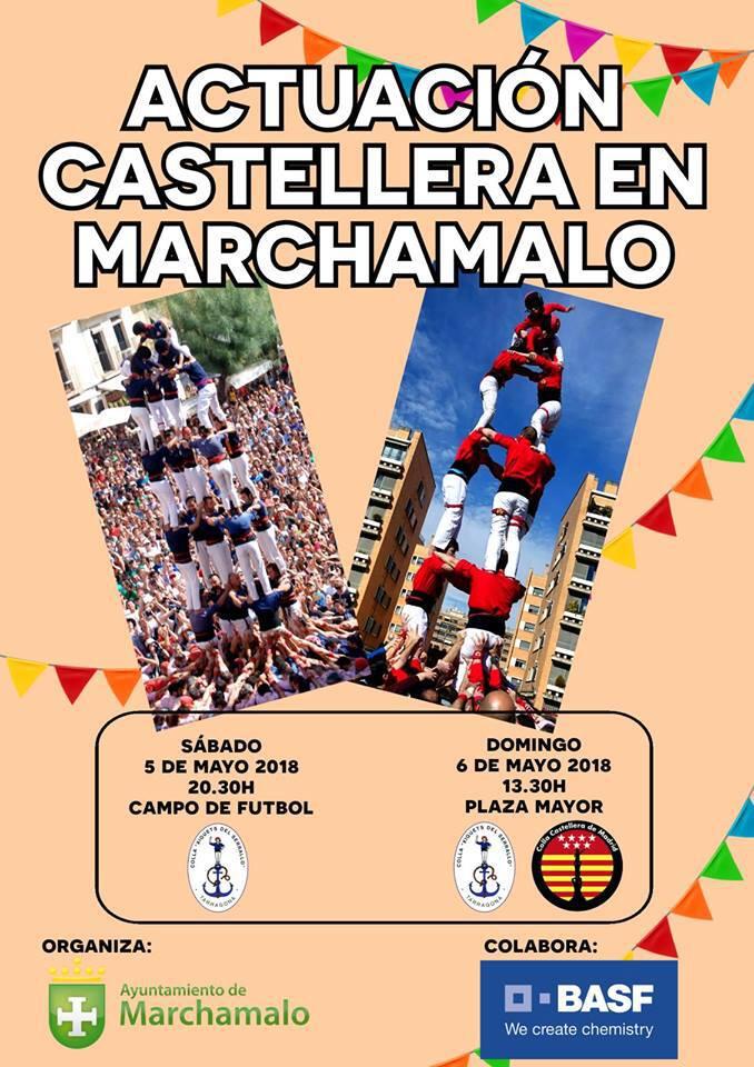 Colla Castellera Marchamalo Cartell 2018-05-06
