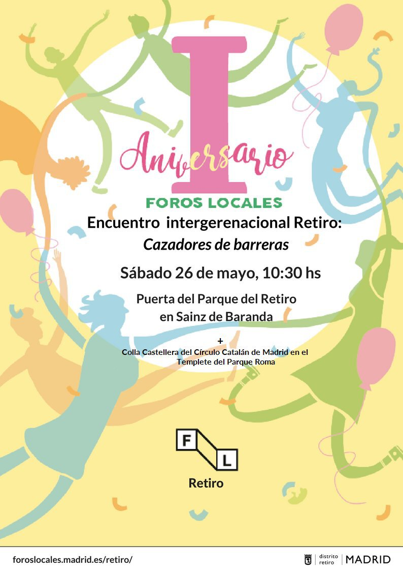 I_Aniversario_Foro_Local_Retiro