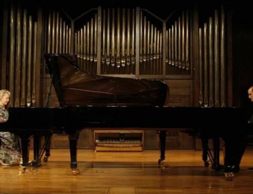 CONCERT A DOS PIANOS  TERESINA JORDÀ Y PABLO RUEDA