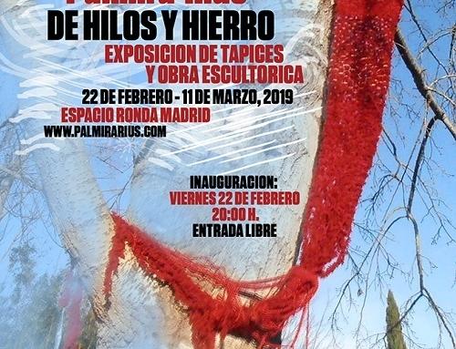 EXPOSICIÓN DE PALMIRA RIUS, INTERRELACIÓN DE MÚSICA, POESÍA, TAPICES Y ESCULTURAS