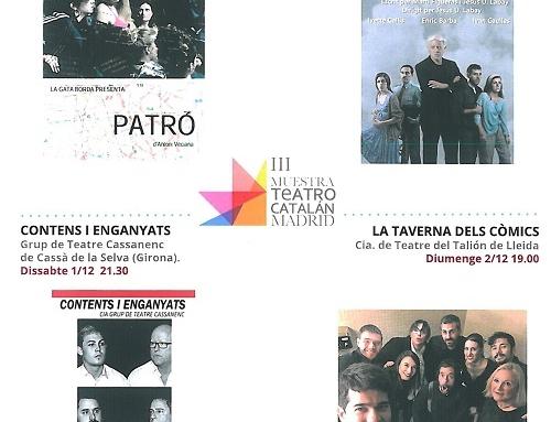 III Mostra de Teatre en Català