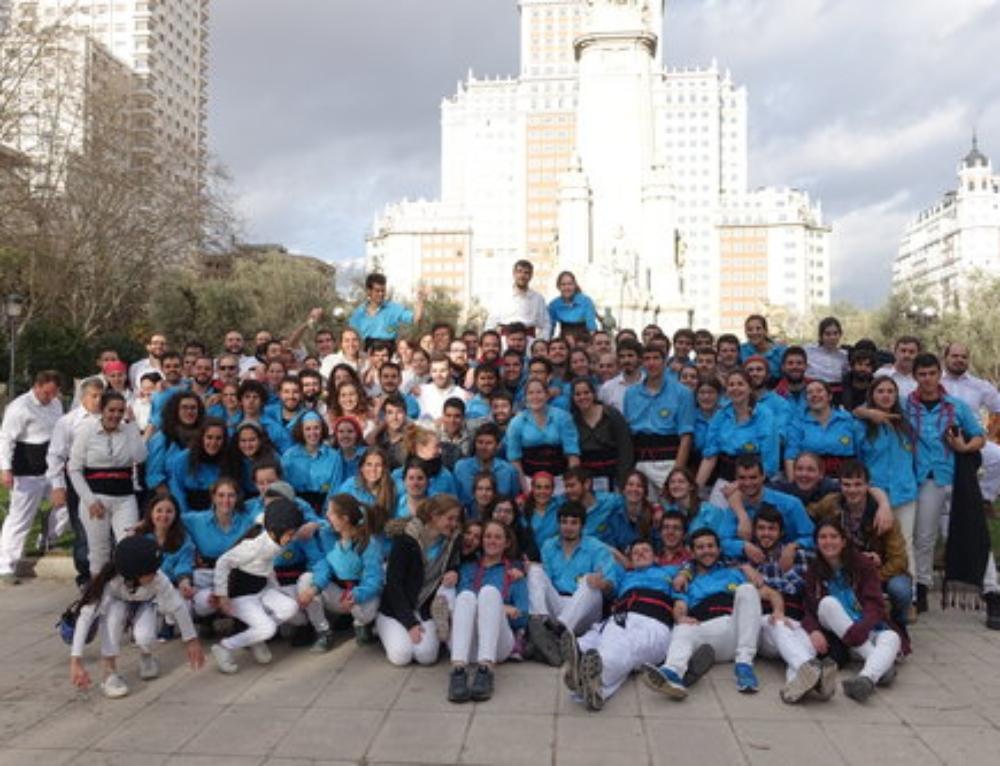 4 MARÇ 2017 – Debut de la Colla Castellera de Madrid