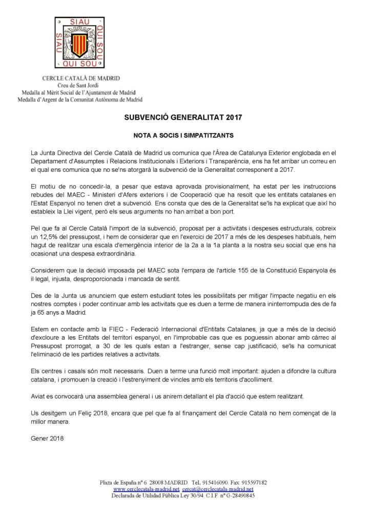 SUBVENCIÓ_GENERALITAT_2017_-_NOTA_SOCIS_I_SIMPATITZANTS