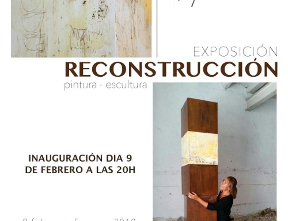 """EXPOSICIÓ """"RECONSTRUCCIÓN"""" D'AGNÈS RODON"""