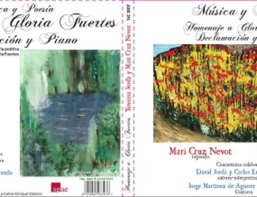 """Presentación del CD """"Homenaje a Gloria Fuertes"""""""