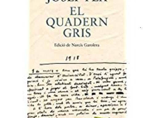"bloQG 100… o blog del ""Quadern gris"" al cabo de 100 años"