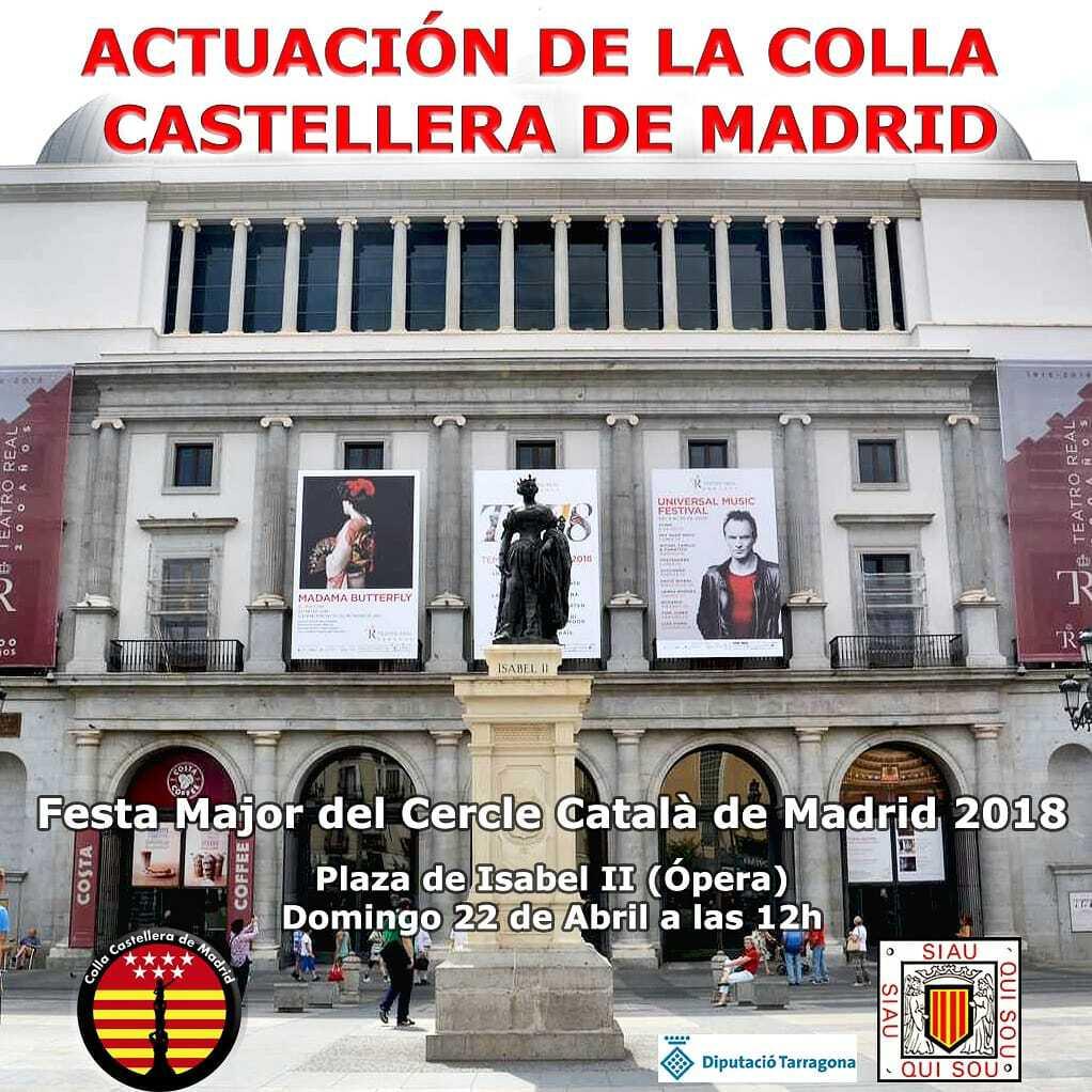 Colla Castellera -actuació 22-4 - cartell